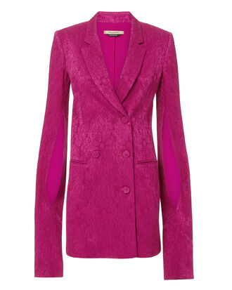 Thatcher Blazer Dress, DARK PINK, hi-res