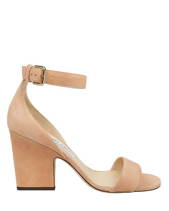 Edina Suede Wedges, BROWN, hi-res