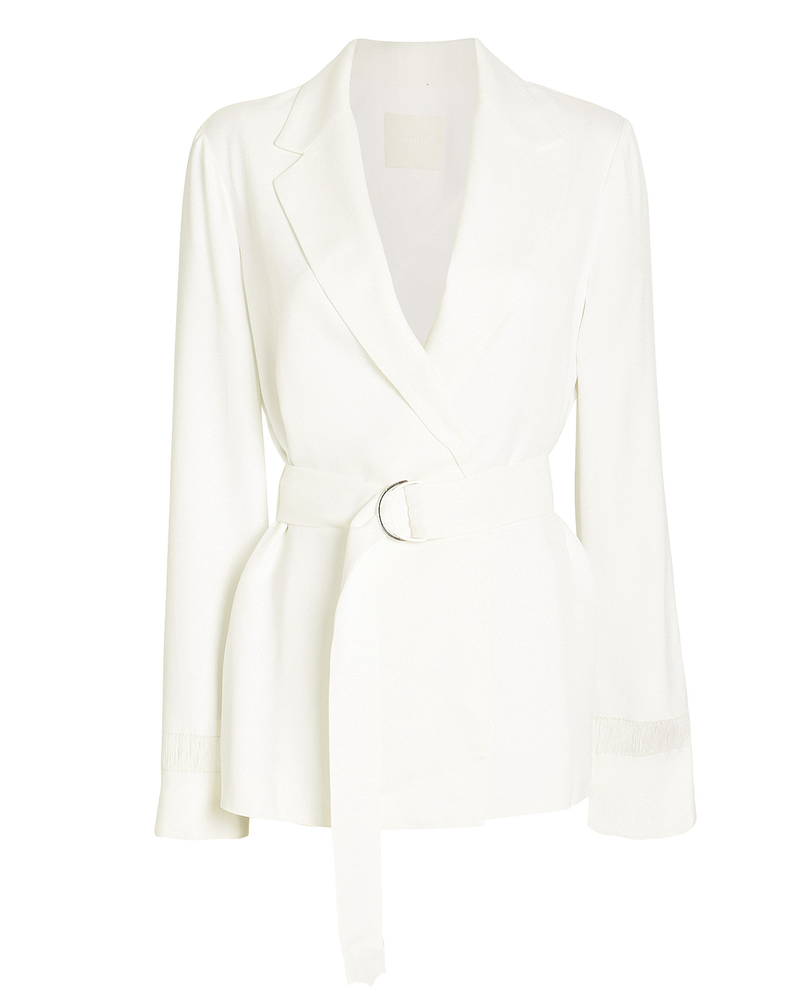 Float Wrap Suiting Blazer, IVORY, hi-res