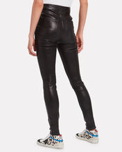 Natasha Skinny Leather Pants, BLACK, hi-res