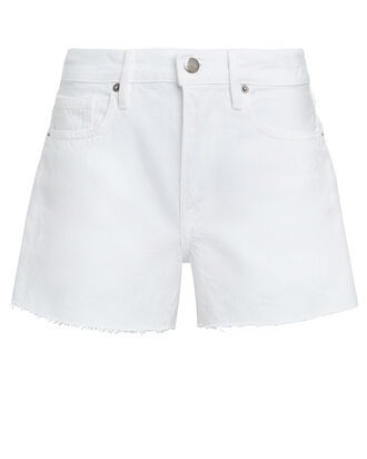Le Brigitte Shorts, WHITE, hi-res