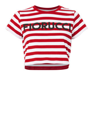 Striped Crop T-Shirt, MULTI, hi-res