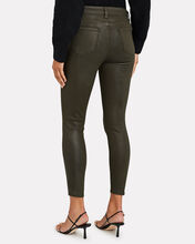 Margot Coated Skinny Jeans, ARMY GREEN, hi-res