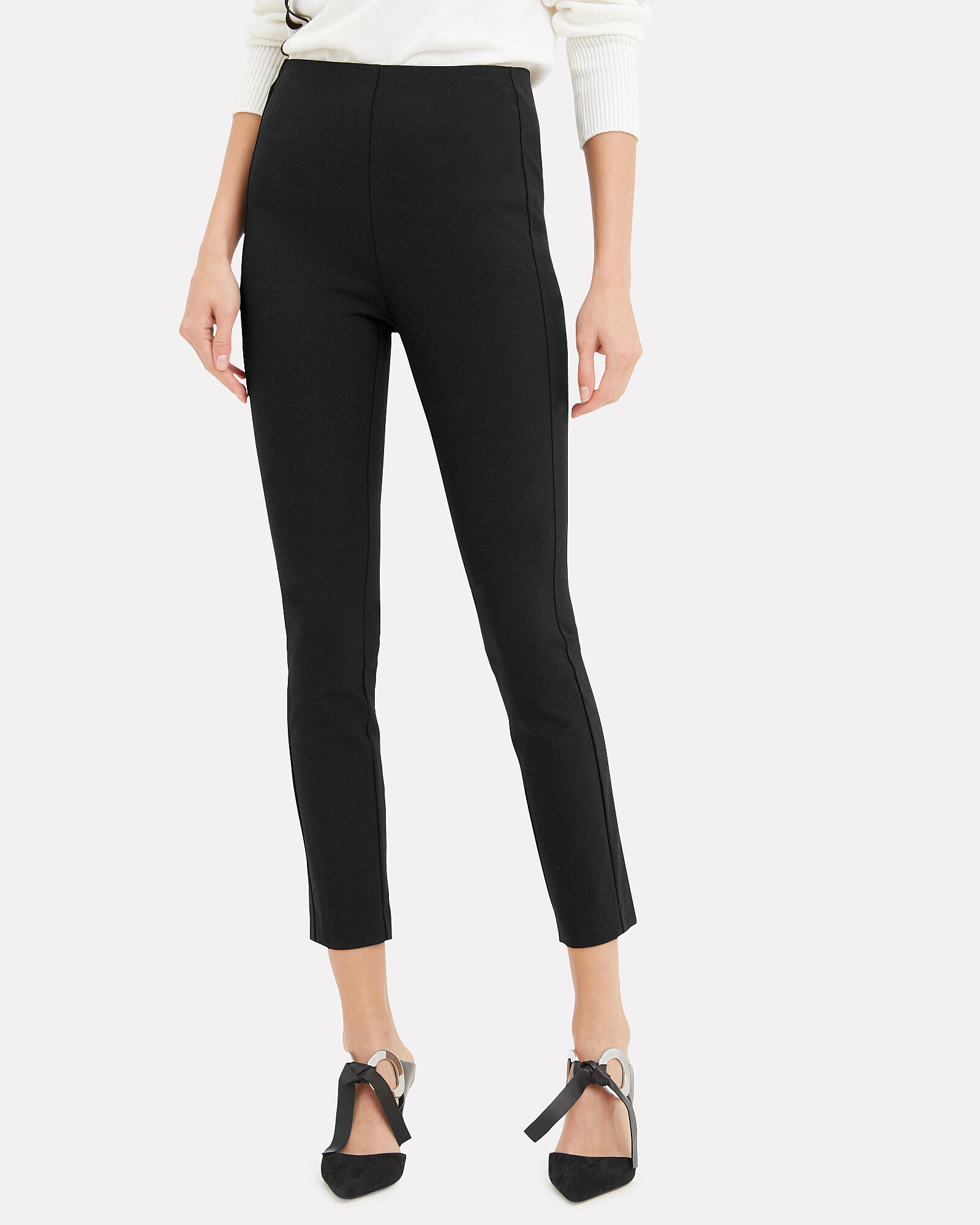 Simone Black Pants, BLACK, hi-res