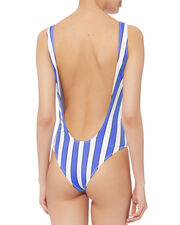 Artisi Striped One Piece Swimsuit, MULTI, hi-res