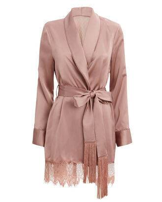 Blush Lace Robe, BLUSH, hi-res