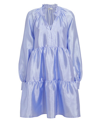 Jasmine Sheen Dress, LIGHT BLUE, hi-res