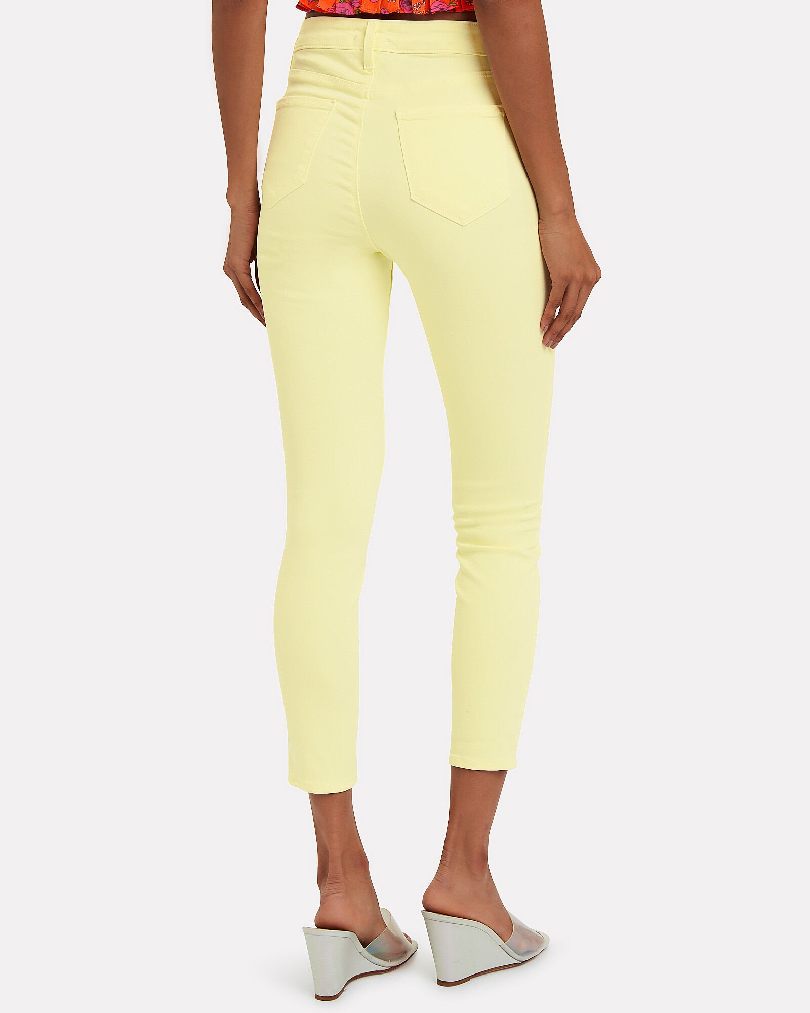 Margot High-Rise Skinny Jeans, YELLOW, hi-res