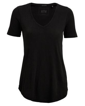 Slub Jersey T-Shirt, BLACK, hi-res