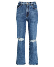 Jules High-Rise Straight-Leg Jeans, DENIM, hi-res
