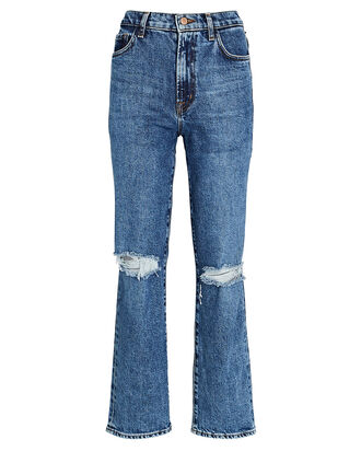 Jules High-Rise Straight-Leg Jeans, FINESSE, hi-res