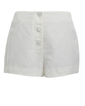 Laney Ultra High-Waist Shorts, WHITE, hi-res