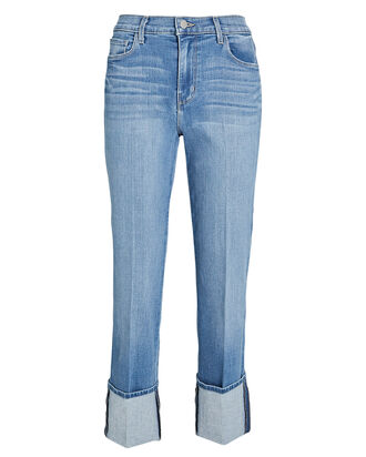 Camila Cropped High-Rise Jeans, , hi-res