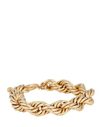 Mini Showstopper Chain-Link Bracelet, GOLD, hi-res