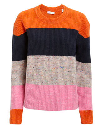Georgina Stripe Sweater, MULTI, hi-res
