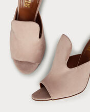 Contour Suede Slides, BLUSH, hi-res