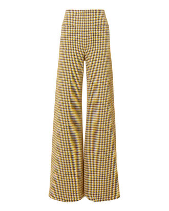 Luc Wide Leg Pants, YELLOW, hi-res