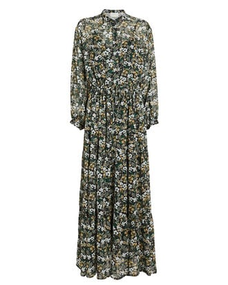 Dingo Floral Maxi Dress, MULTI, hi-res