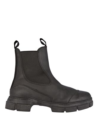 Recycled Rubber City Boots, BLACK, hi-res