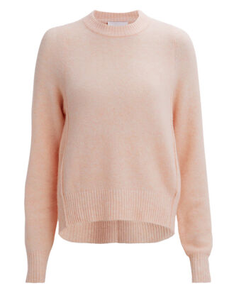 Blush High-Low Sweater, BLUSH, hi-res
