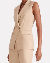 Anouka Double-Breasted Vest, BEIGE, hi-res