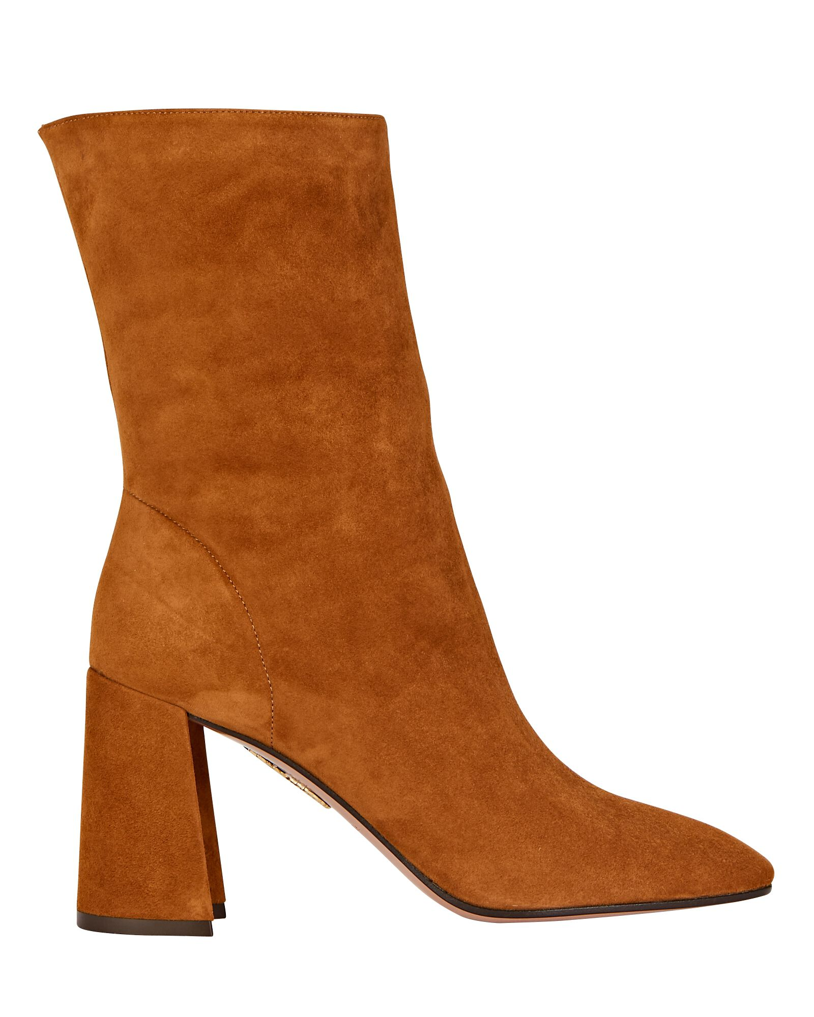 Boogie 85 Suede Ankle Boots, BROWN, hi-res