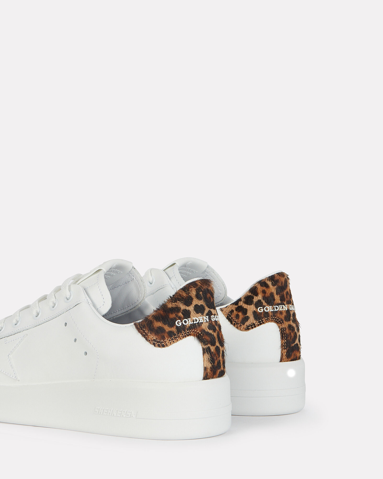 Purestar Leopard Low-Top Sneakers, WHITE, hi-res