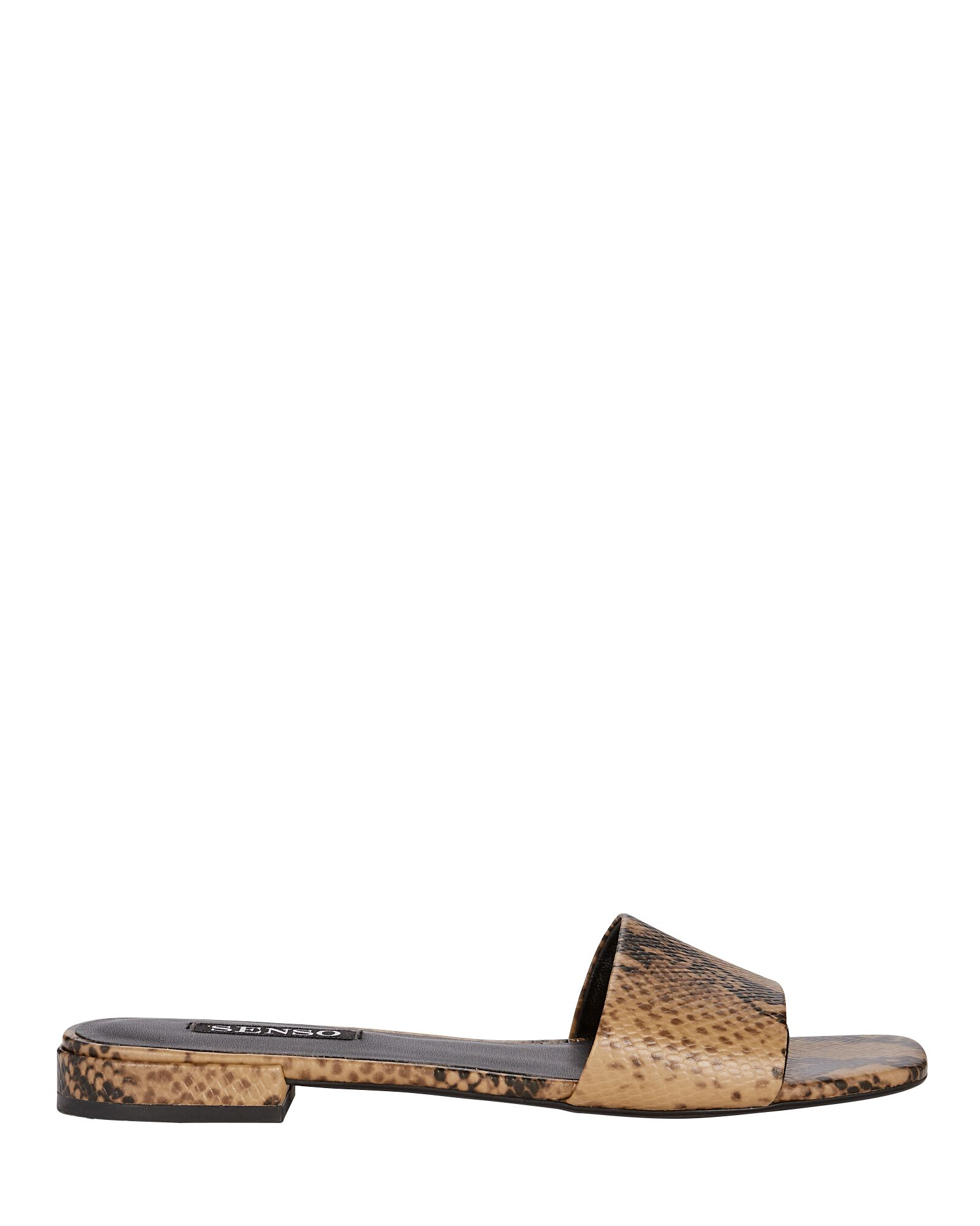 Kym II Slide Sandals, BEIGE/BLACK, hi-res