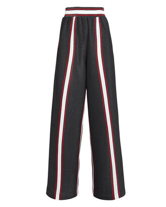 Sophie Lurex Striped Pants, NAVY/STRIPES, hi-res