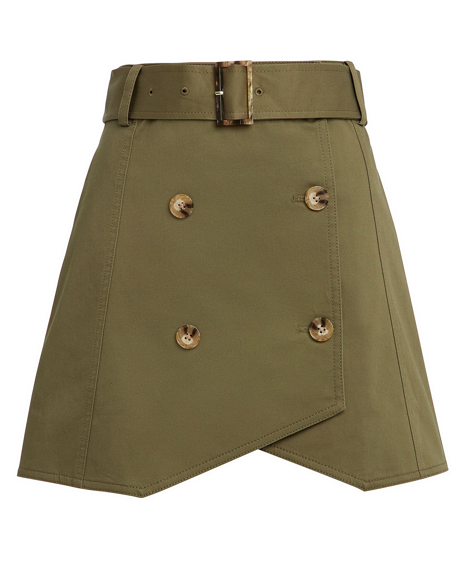 Army Trench Skirt, OLIVE/ARMY, hi-res