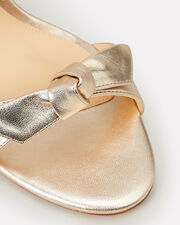 Nolita Double Bow High Sandals, GOLD, hi-res