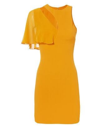 Xandra Marigold Dress, MUSTARD, hi-res