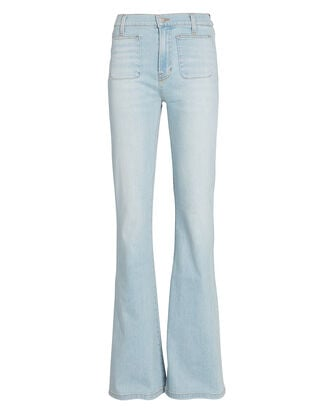 Florence Flared High-Rise Jeans, , hi-res
