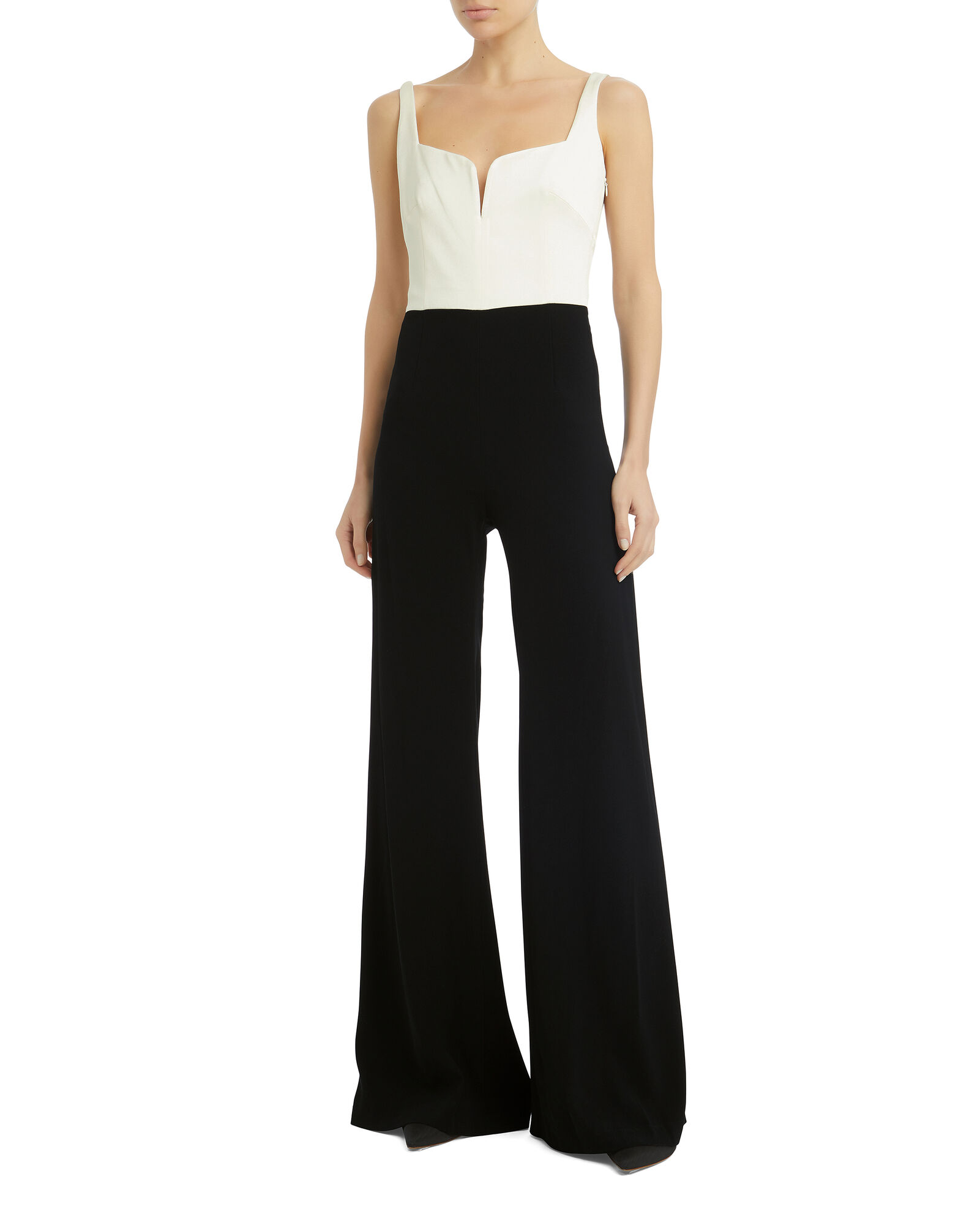 Eclipse Jumpsuit, BLACK/WHITE, hi-res