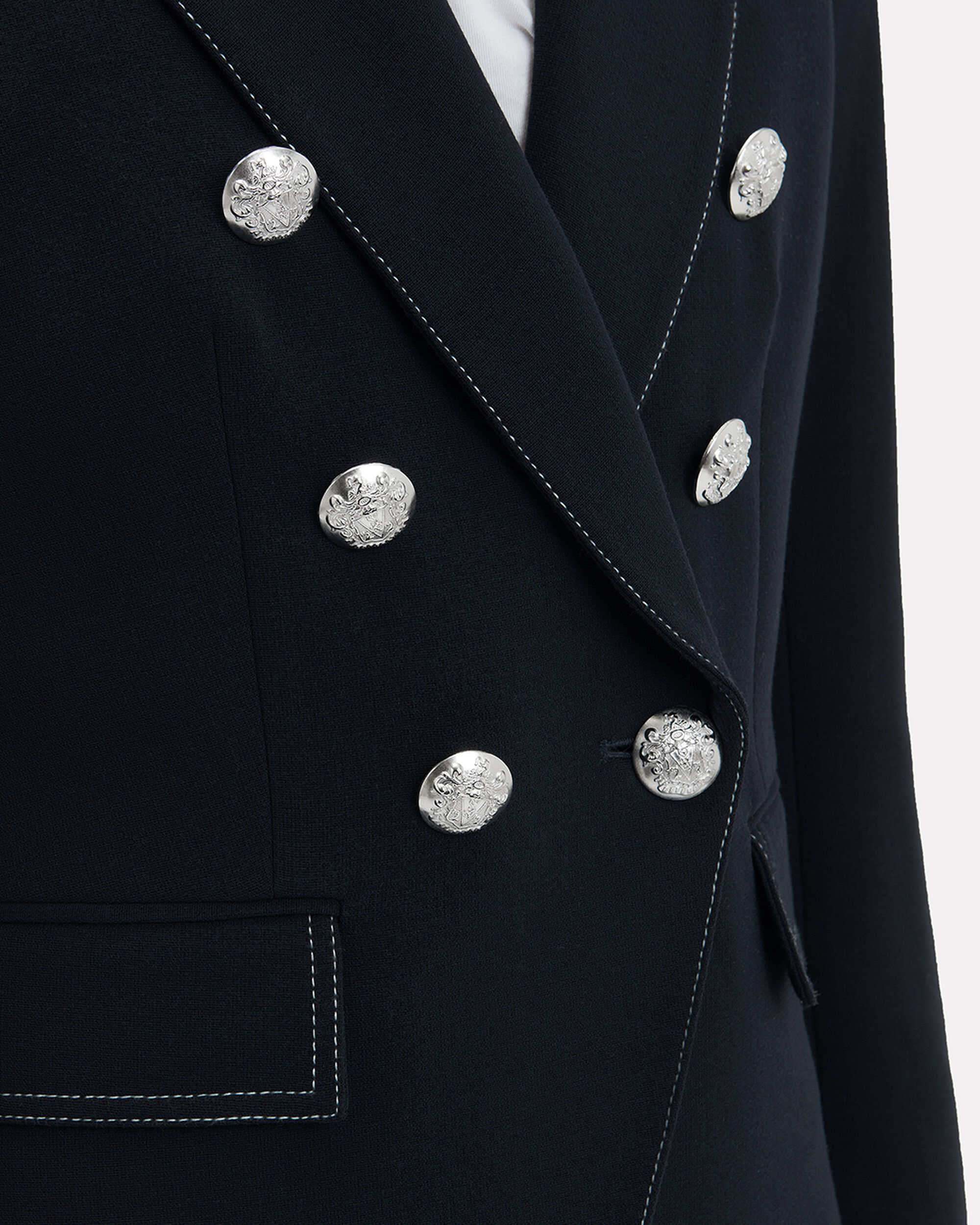 Miller Double-Breasted Blazer, NAVY, hi-res