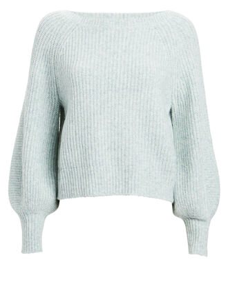 Tinsley Rib Knit Sweater, ICE BLUE, hi-res