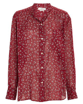 Mexika Floral Button-Down Shirt, , hi-res