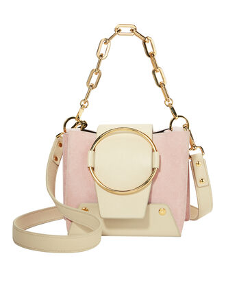 Delila Gold Chain Bag, PINK, hi-res