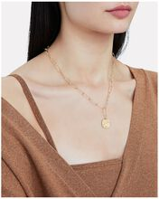The Baby Infernal Storm Necklace, GOLD, hi-res