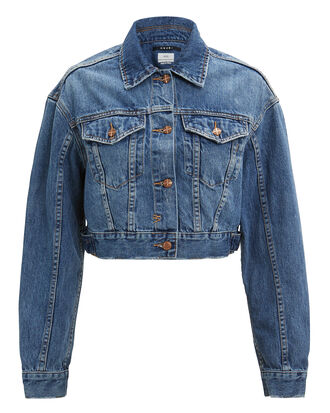 Jett Elixir Blue Denim Jacket, MEDIUM BLUE DENIM, hi-res