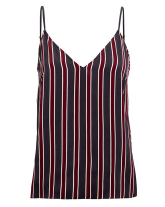 Striped Classic Cami, NAVY, hi-res