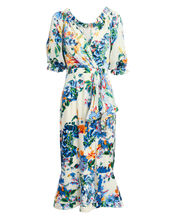 Olivia Begonia Floral Dress, MULTI, hi-res