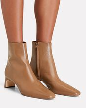 Lennon Leather Ankle Boots, BROWN, hi-res