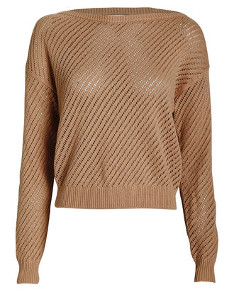 Colette Off-The-Shoulder Sweater, PINK, hi-res