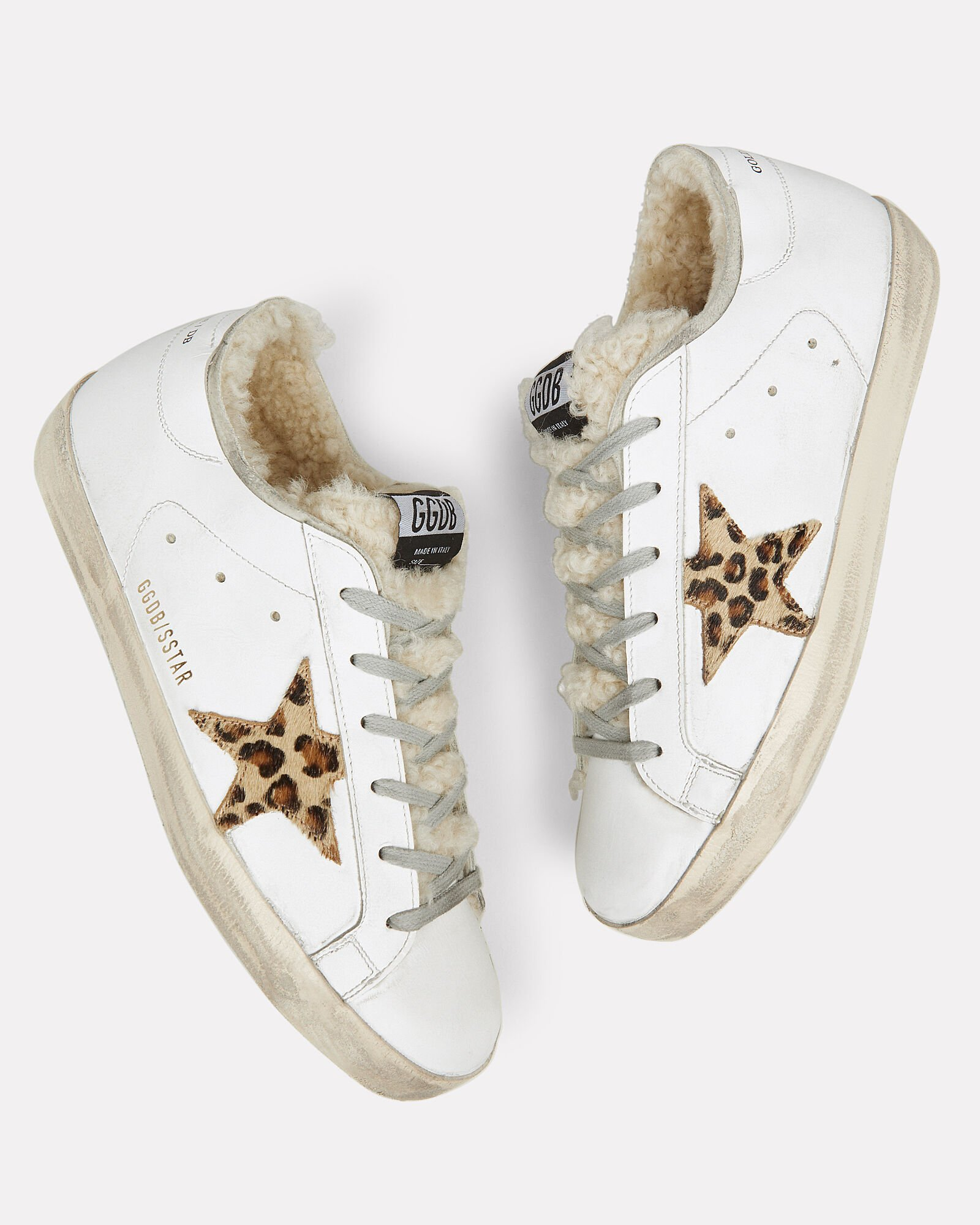 Superstar Sherling Low-Top Sneakers, WHITE, hi-res