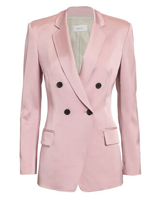 Sedgwick Double Breasted Blazer, PINK, hi-res