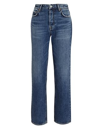 Helena High-Rise Straight-Leg Jeans, OVER HERE, hi-res