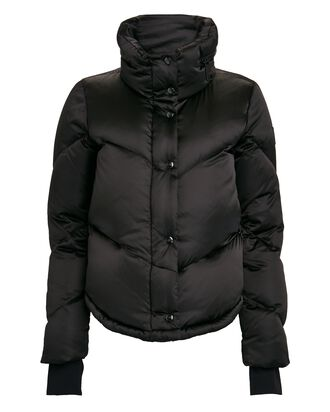 Athlete Down Puffer Jacket, BLACK, hi-res