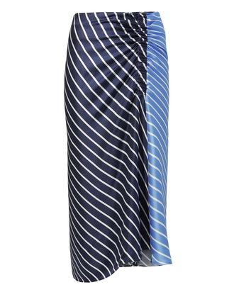Delphina Striped Midi Skirt, BLUE-MED, hi-res