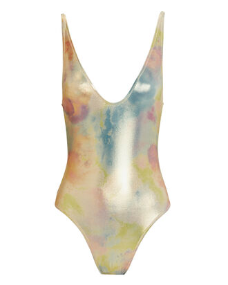 Viva One Piece Swimsuit, RAINBOW METALLIC, hi-res